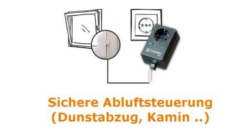 Fensterkontaktschalter-SwitchBox-Dunstabzug-Kamin