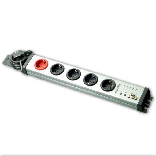 Steckdosenleiste einzeln schaltbar mit USB
