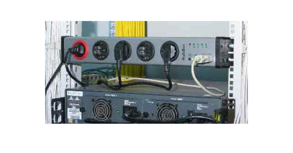 Steckdosenleiste einzeln schaltbar mit USB - MultiBox-pro USB